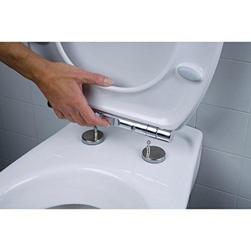 Turbo WC Sitz passend Keramag Virto Absenkautomatik abnehmbar DS64