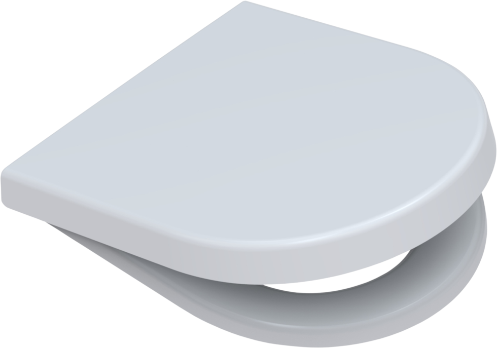 WC Sitz passend Duravit Starck 2 Edelstahlscharnieren abnehmbar