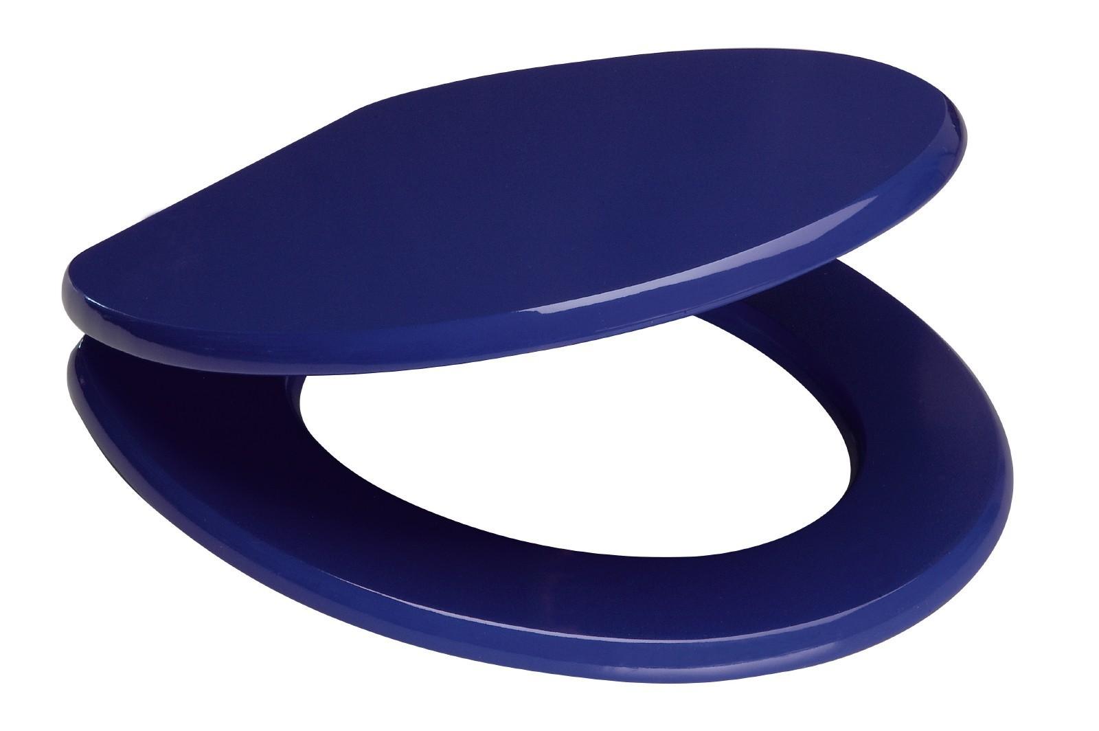 sanitop wingenroth wc sitz venezia blau holzkern metallschar. Black Bedroom Furniture Sets. Home Design Ideas