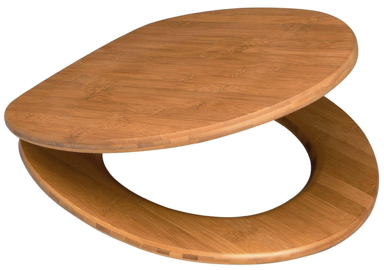 sanitop wingenroth wc sitz bambus natur echtholz edelstahl. Black Bedroom Furniture Sets. Home Design Ideas