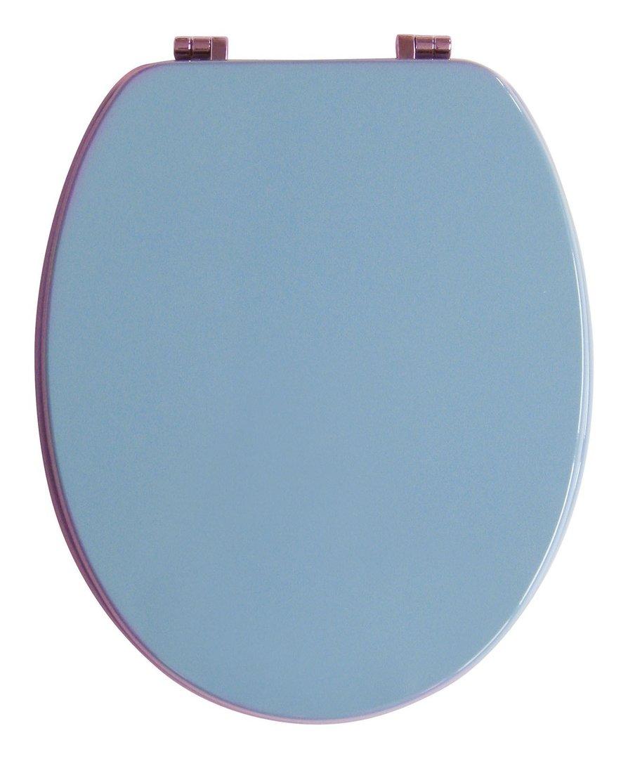 Berühmt Sanitop-Wingenroth WC-Sitz Venezia Bermuda-Blau Holzkern Metallsc TH29