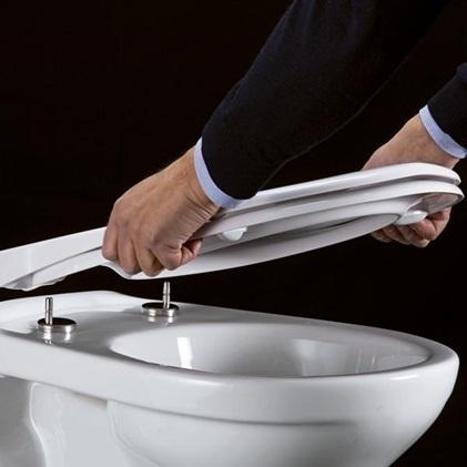 Pressalit Scandinavia PLUS WC-Sitz mit Absenkautomatik; caramel: Amazon.de: Baumarkt
