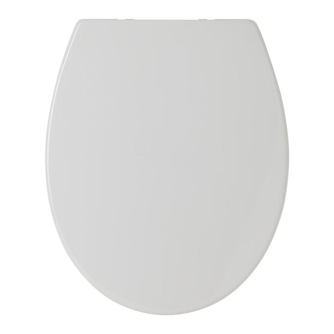 WC Sitz passend Keramag Renova Farbe Pergamon Edelstahlscharniere  Absenkautomatik abnehmbar